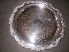 Sheridan 1940's Silver plate Footed Tea/Coffee Tray