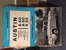 Austin 1958 Car Service & Repair Manuals