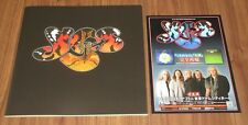 With PROMO flyer! Yes JAPAN 2014 tour book STEVE HOWE Geoff Downes CHRIS SQUIRE