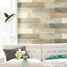 DISTRESSED WOOD like PLANKS peel & stick wall stickers 16 decals barn look
