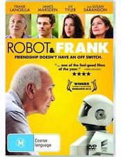 Robot & Frank (2012) Frank Langella, Susan Sarandon - NEW DVD - Region 4