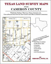 Cameron County Texas Land Survey Maps Genealogy History
