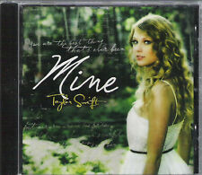 "Taylor Swift ""MINE"" CD SINGLE with fold out MINI poster"