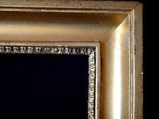 Ancien cadre en bois doré à clé 40x32 old wooden frame XIX