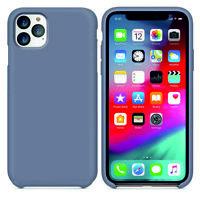 Hülle Apple iPhone 11 Pro Max X Xs Xr Silikon Original Design Case Schutzhülle