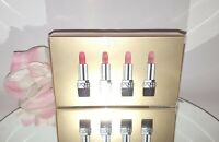 Christian Dior Rouge 4pc Mini Lipstick Gift Set Limited Holiday Edition