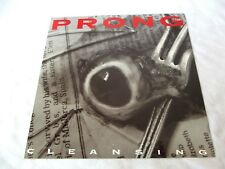 Prong Cleansing 1993 poster promo flat 12x12 Tommy Victor Paul Raven