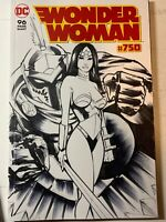 Wonder Woman 750 Original Sketch Cover Vatiant