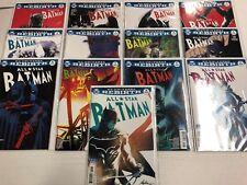 All Star Batman #1 2 3 And 5 6 7 8 9 10 11 12 13 14 Comic Libro Juego Dc Rebirth