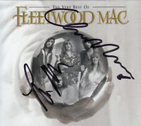 Fleetwood Mac Lindsey Buckingham & Christine McVie Signed CD Cover