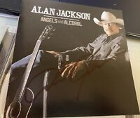Angels and Alcohol by Alan Jackson (CD, 2015) AUTOGRAPHED COVER