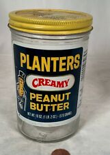 New ListingVintage 1960S Planters Creamy 18 Ounce Peanut Butter Jar Standard Brands Era