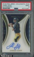 2016 Panini Immaculate Collegiate #102 Jared Goff RC AUTO /99 PSA 9 NONE HIGHER