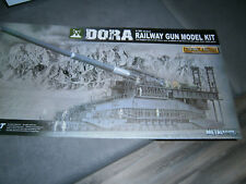 1/35 German 80cm K/E Railway Gun / Eisenbahngeschütz DORA