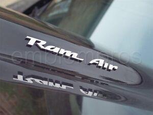 1993-2002 PONTIAC FIRBIRD RAM AIR EMBLEMS MIRROR STAINLESS STEEL