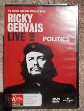 RICKY GERVAIS LIVE--POLITICS DVD MA R4
