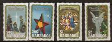 BARBADOS SG944/7 1990 CHRISTMAS MNH