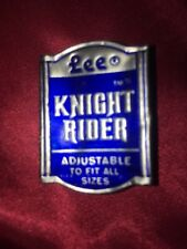Original Knight Rider Metallic Clothing Tag from Lee Belt Vintage