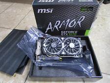 Gamer Grafikkarte GeForce GTX 1070 ARMOR 8GB OC GDDR5, leise Lüfter