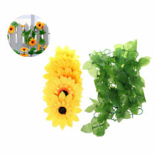 DIY Artificial Sunflower Garland Flower Vine for Home Wedding Floral Decor NEW