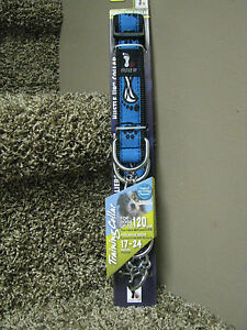 Hustle Up Training Dog Collar for dogs up to 120#-Blue-brand new!!