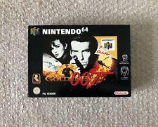 *Good Condition* Goldeneye 007 - Nintendo 64 N64 - Boxed - CIB PAL Collectors