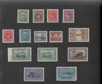 CANADA  1942-48 WAR EFFORT SET (SG 375-388) MINT