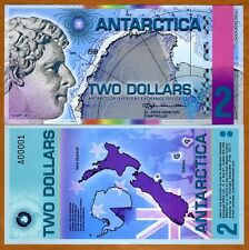 Antarctica, $2, 2014, Polymer -> Redesigned