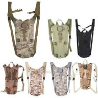3L Tactical Nylon Bag Hydration Packs Water Bag Assault Backpack Hiking Pouch