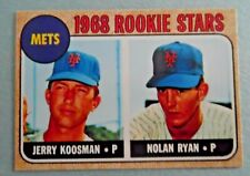 Nolan Ryan and Jerry Koosman 1968 Topps  #177 Rookie Card RP