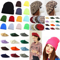 Women Beret French Artist Hat Winter Hat Cotton Octagonal Military Cap Ski Cap