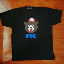 RARE FTC Skateboarding x The Wonderful! Design Works Tee Shirt Bear Size XL