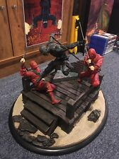"GI Joe ""Sideshow Collectibles"" Snakes Eyes vs. Red Ninjas Statue (Very Rare)"