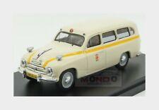 Skoda 1201 Van Ambulance 1956 Cream Red ABREX 1:43 143ABSX-718XO1 Miniature