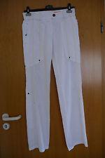 Marc Cain Sports Cotton-Sommerhose Weiß N3 / 38 Gerades Bein TOP Zustand