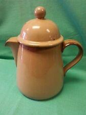 Mid Century Pottery Dansk Tan Tea pot