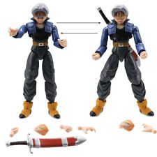 TRUNKS - 2 PERSONAGGI -17Cm- Dragon Ball Z Super Sayan Figure Modellino Statuina