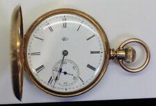 ELGIN NATIONAL WATCH CO. DEXTER ST. 18K GOLD KEY RR POCKET WATCH 333545 c.1874