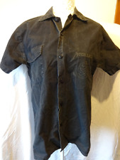 Very rare vintage Metallica original band shirt. Black button-down shirt, small.