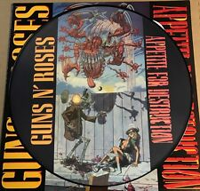 GUNS N' ROSES Appetite for Destruction 180G PICTURE DISC LP, VINYL BANNED COVER
