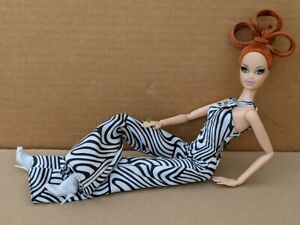 Pop Life REDHEAD Barbie 2009 Fully Dressed No Box