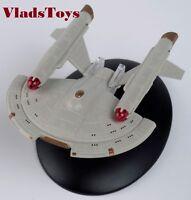 Eaglemoss Star Trek Intrepid-class United Earth Starfleet UES Intrepid #44 w/Mag