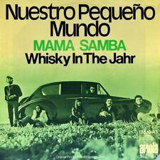 """7"""" NUESTRO PEQUEÑO PEQUENO MUNDO Mama Samba / Whisky In The Jar ARIOLA Folk 1973"""
