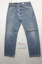 Levi's 505 regular fit  (Cod. M626) tg50 W36 L30  jeans usato vintage levis
