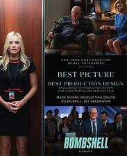K62 Bombshell Movie Margot Robbie 2019 Poster 32x48 24x36 Art Silk