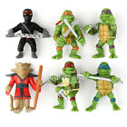 6 x Teenage Mutant Ninja Turtles TMNT Action Figures Toy Classic Collection MINI