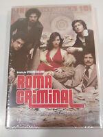 ROMA CRIMINAL TEMPORADA 1 COMPLETA SERIE TV 4 DVD CASTELLANO ITALIANO nueva - AM