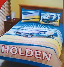 Holden - Sandman Panel Van Queen Doona Quilt Duvet Cover Set *holden No More*