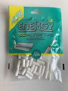 Energy Filter Tips (ehemals Elixyr) + Plus Menthol Filter 1x100 Stück