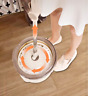 360° Microfiber Spinning Magic Rotating Head Easy Cleaning Floor Mop Bucket Set